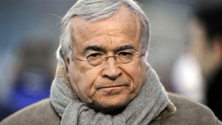 Le président de l'OM Jean-Claude Dassier (JEAN-PIERRE MULLER / AFP)
