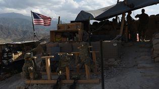 Des soldats américains dans le district de Deh Bala, en Afghanistan, le 7 juillet 2018. (WAKIL KOHSAR / AFP)