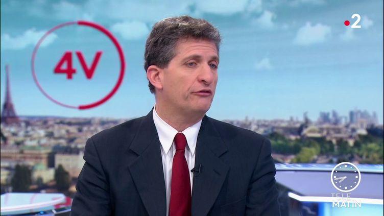 SergeFederbusch est le candidat à la mairie de Paris soutenu par le Rassemblement National. (France 2)