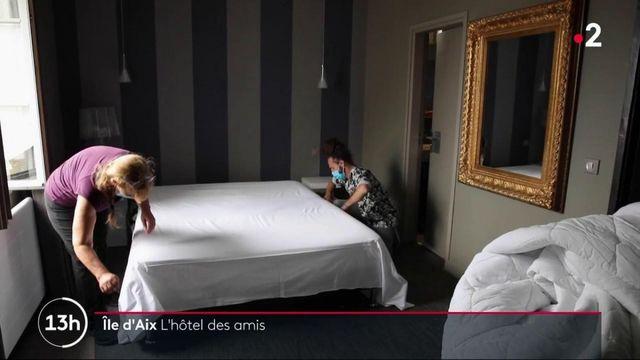 Île d'Aix : l'hôtel Napoléon en pleine renaissance