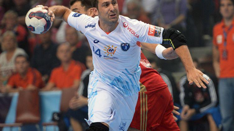 Michaël Guigou, l'ailier de Montpellier.