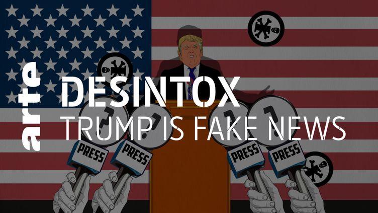 Désintox. Etats-Unis : petit bilan des « fake-news » énoncées par Donald Trump durant son mandat (ARTE/2P2L)