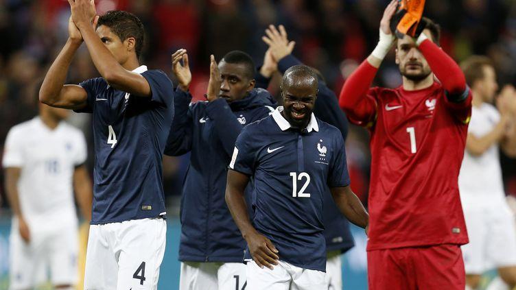 Fin de match tout en émotion pour les Bleus à Wembley. (JED LEICESTER / BACKPAGE IMAGES LTD)