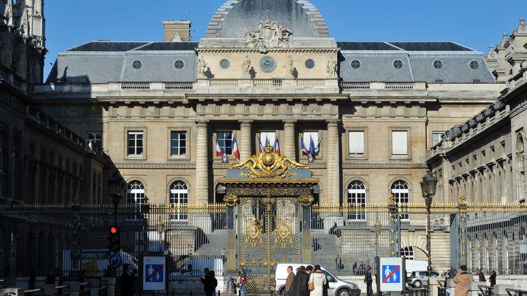 Le palais de justice de Paris, le 2 mars 2010. (MIGUEL MEDINA / AFP)