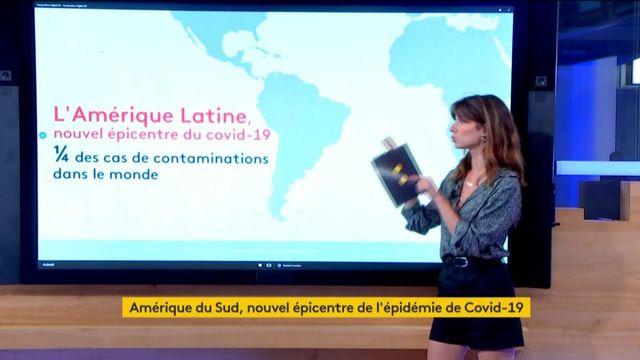 Cornavirus : l'Amérique du Sud, nouvel épicentre de l'épidémie