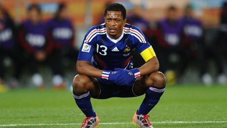 Grosse déception pour le Capitaine des Bleus Patrice Evra