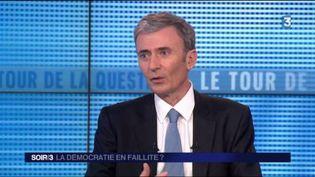 Brice Teinturier, directeur de l'institut de sondage Ipsos. (FRANCE 3)