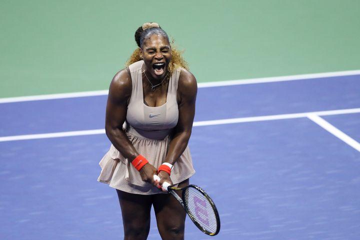 Serena Williams à l'US Open (MATTHEW STOCKMAN / GETTY IMAGES NORTH AMERICA)