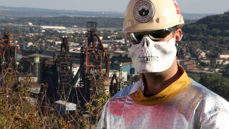 Hayange 06/12/2012 Les hauts fourneaux de Hayange Le groupe ArcelorMittal a retiré le projet industriel Ulcos, présenté comme le principal espoir de reconversion pour le site de Florange (MAXPPP)