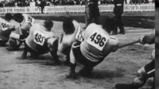 Le tir à la corde, discipline olympique aux JO d'Anvers en 1920 (France 3)