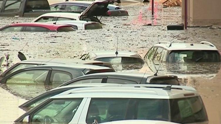 Corse-du-Sud : Ajaccio sous les eaux après de fortes pluies (FRANCE 3)