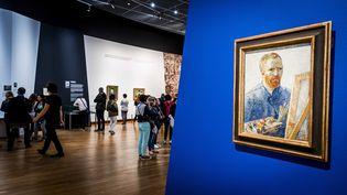 Le musée Van Gogh à Amsterdam (Pays-Bas), le 15 juillet 2016. (REMKO DE WAAL / ANP)