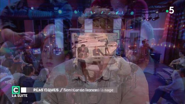 """Rémi Camus a bouclé en septembre son tour de France à la nage. Il était l'invité de l'émission """"C Politique, la suite"""", dimanche, sur France 5."""