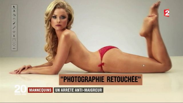 """""""Loi mannequin"""" : un décret anti-maigreur publié"""