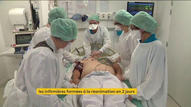 Covid-19 : à Rouen, des formations accélérées en réanimation pour les infirmières