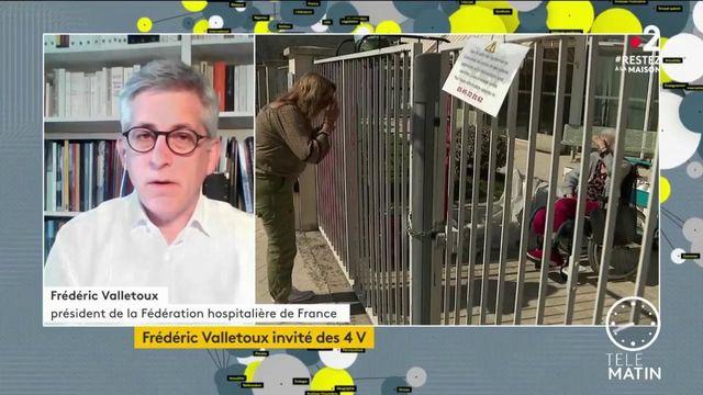 Coronavirus: à l'hôpital «la pression est moins forte, mais elle est toujours là», indique Frédéric Valletoux (Fédération hospitalière de France)