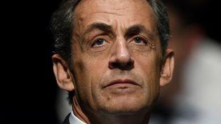 Nicolas Sarkozy, à Paris, le 1er octobre 2016, aux Sables-d'Olonne. (JEAN-FRANCOIS MONIER / AFP)