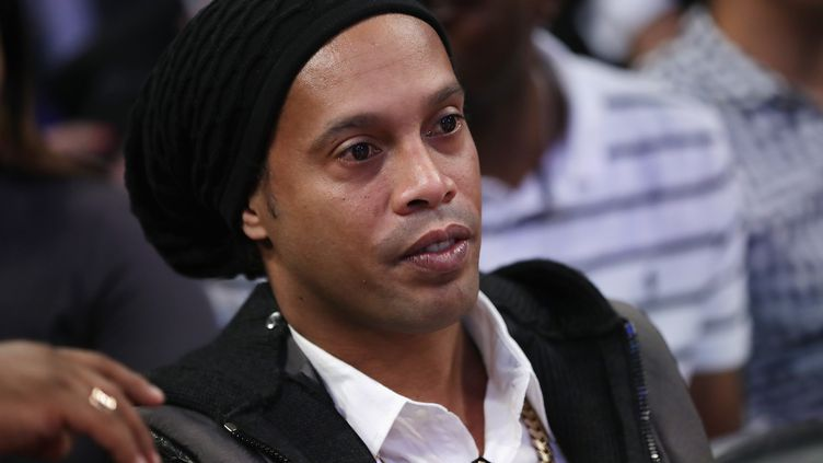Ronaldinho.  (RONALD MARTINEZ / GETTY IMAGES NORTH AMERICA)