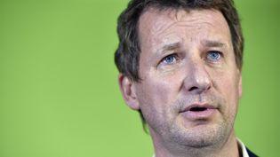 Le député européenn Yannick Jadot a remporté lundi 7 novembre la primaire écologiste et sera le candidat d'EELV à la présidentielle. (ALAIN JOCARD / AFP)