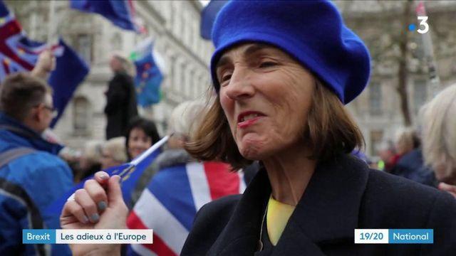 Brexit : les adieux du Royaume-Uni à l'Europe