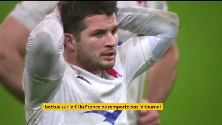 LeXV de France a perdu le Tournoi des six nations face à l'Ecosse (FRANCEINFO)