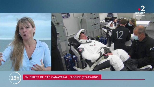 États-Unis : la fusée SpaceX s'apprête à décoller pour un vol habité dans l'espace