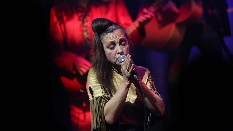 Catherine Ringer lors de son concert à Amiens en octobre 2019 (FRED DOUCHET / MAXPPP)