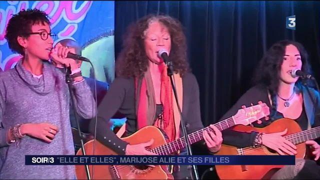 Musique : Marijosé Alie de retour avec ses filles