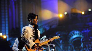 Le chanteur Prince, en octobre 2009 au Grand Palais, à Paris. (BERTRAND GUAY / AFP)
