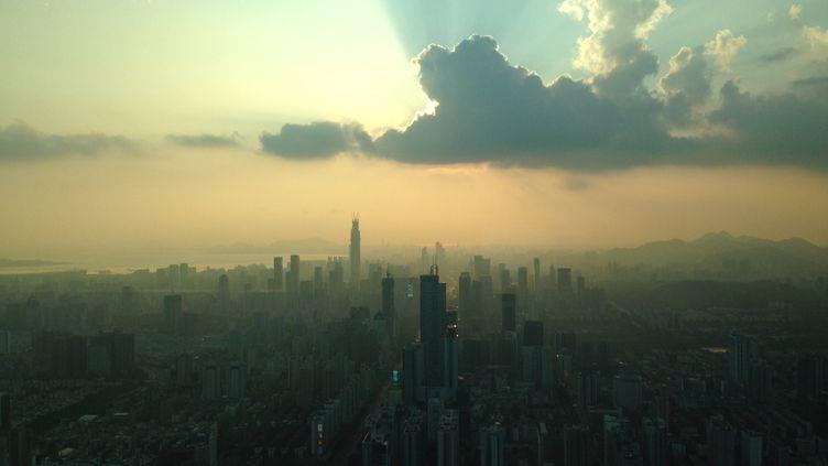 Vue de Shenzen (Chine). (E. QUENO/FRANCE 3)
