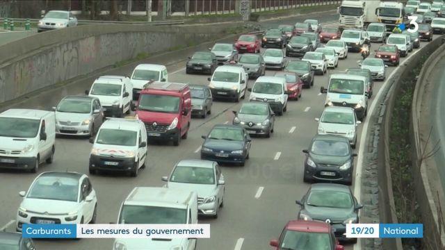 Carburants : les mesures du gouvernement