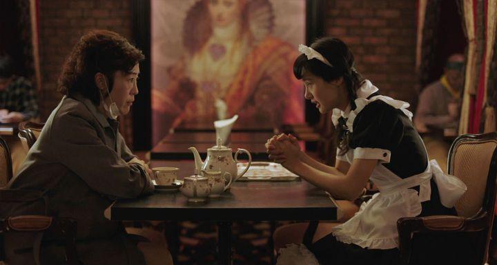 """Shinobu Terajima et Shioli Kutsuna dans """"Oh Lucy"""" de Atsuko Hirayanagi  (Nour Films)"""
