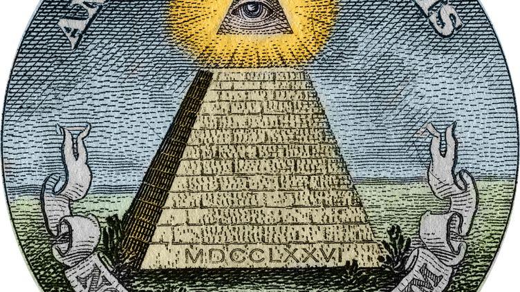 "La pyramide et l'oeil sont des symboles que certains conspirationnistes attribuent aux ""Illuminati"". (STEFANO BIANCHETTI / CORBIS HISTORICAL)"