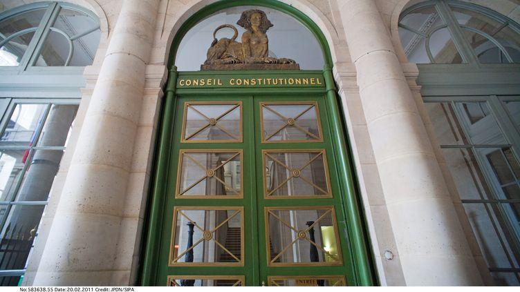 La façade du Conseil constitutionnel, le 20 février 2011 à Paris. (JPDN / SIPA)
