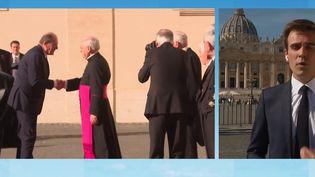 Vatican : Jean Castex a rencontré le pape François (FRANCE 3)