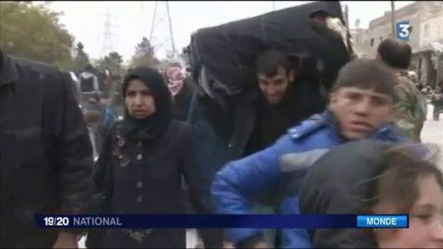 Syrie : les combats encerclent la population d'Alep