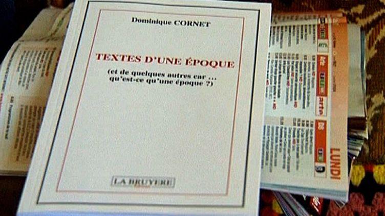 Livre de Dominique Cornet, édité à titre posthume aux Editions La Bruyère  (France3/Culturebox)