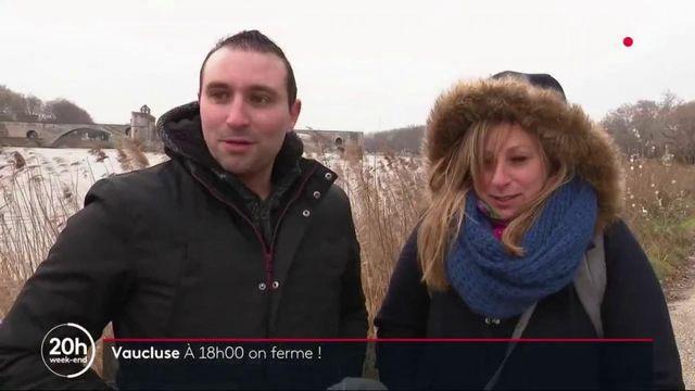 Vaucluse : à Avignon, les habitants tentent de s'adapter au passage du couvre-feu à 18h