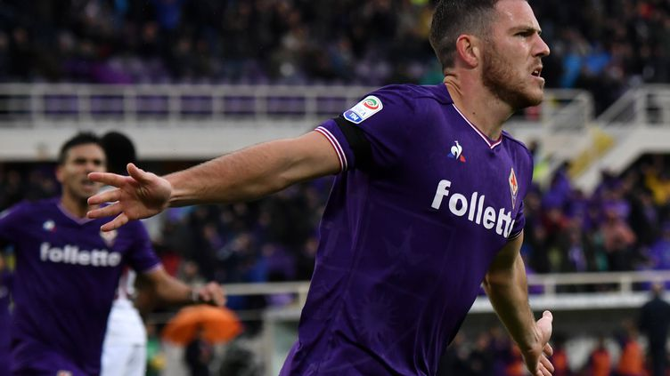 Jordan Veretout (Fiorentina). (TIZIANA FABI / AFP)