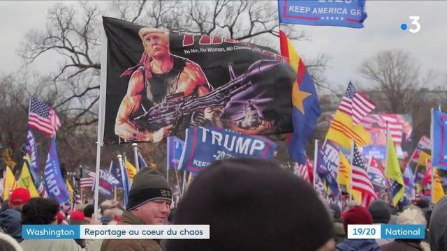 États-Unis : le pays encore sonné après l'attaque du Capitole par des militants pro-Trump