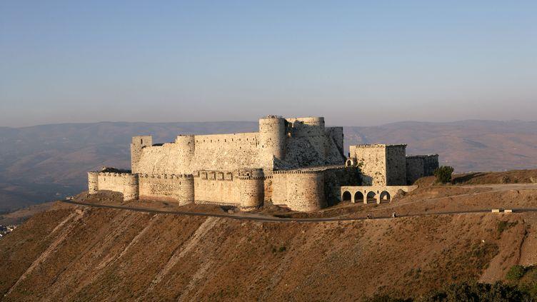 Le Crac des Chevaliers est l'un des sites prévus dans le programme de Clio, le voyagiste français qui propose à nouveau des séjours en Syrie. (MANUEL COHEN / AFP)