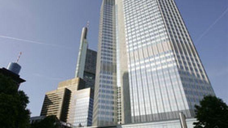 Siège de la Banque Centrale Européenne à Francfort-sur-le-Main en Allemagne. (AFP - J. Macdougall)