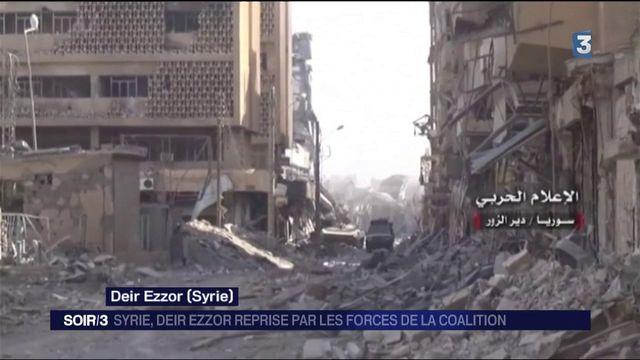 Syrie : la ville de Deir Ezzor libérée par les forces de la coalition