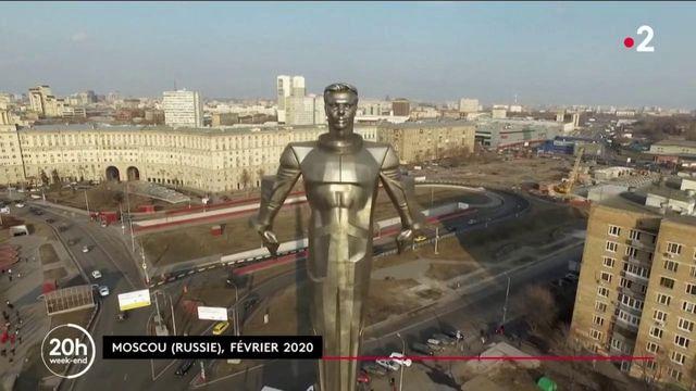 Russie : Youri Gagarine, premier cosmonaute envoyé dans l'espace, toujours célébré 60 ans plus tard