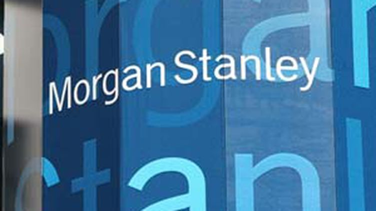 Le logo de la banque US Morgan Stanley (© AFP / Mario Tama)
