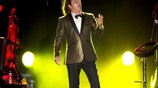 Le ténor franco-italien Roberto Alagna en représentation à Golfe-Juan (Alpes-Maritimes), le 9 août 2012. (SYSPEO / SIPA)