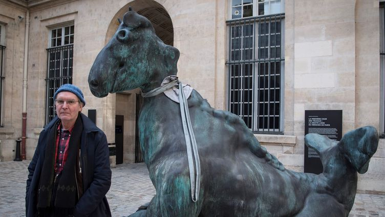 Thomas Schütte à la Monnaie de Paris   (Eric Feferberg / AFP)