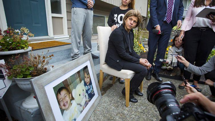 Teema Kurdi, la tante du petit Aylan Kurdi au Canada, le 3 septembre 2015. (BEN NELMS / REUTERS)