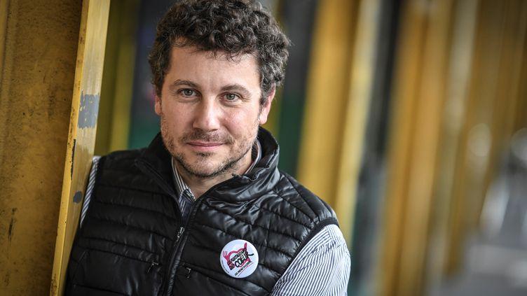 Romain Colucci à Paris en novembre 2019.  (STEPHANE DE SAKUTIN / AFP)