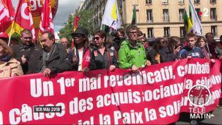 Les manifestations prévues mercredi 1er mai se dérouleront sous haute surveillance. De nombreux appels à la mobilisation ont été lancés sur les réseaux sociaux. (FRANCE 2)